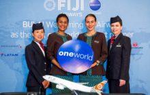Na Fidži s British Airways a Fiji Airways