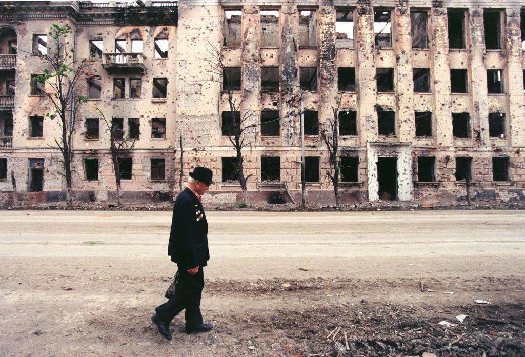 GROZNY. CHECHNYA 1995, Foto: Jan Šibík