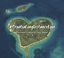 Chorvatské turistické sdružení zahájilo kampaň #CroatiaLongDistanceLove