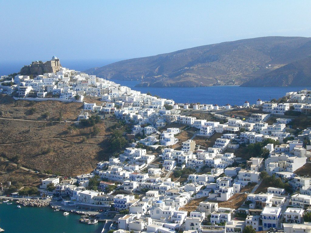 Astypalaia, Řecko. Foto:: www.wikimedia.org