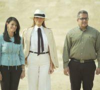 První dáma USA jako velvyslankyně egyptského cestovního ruchu