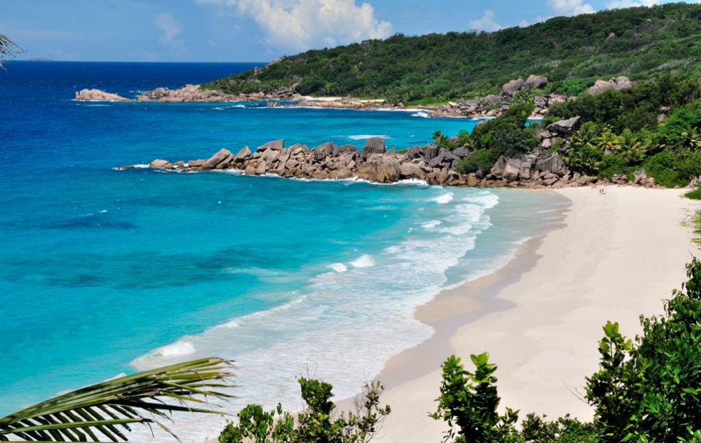 Petite Anse, La Digue  Zdroj: seychelles.travel/ Gerard Larose/STB