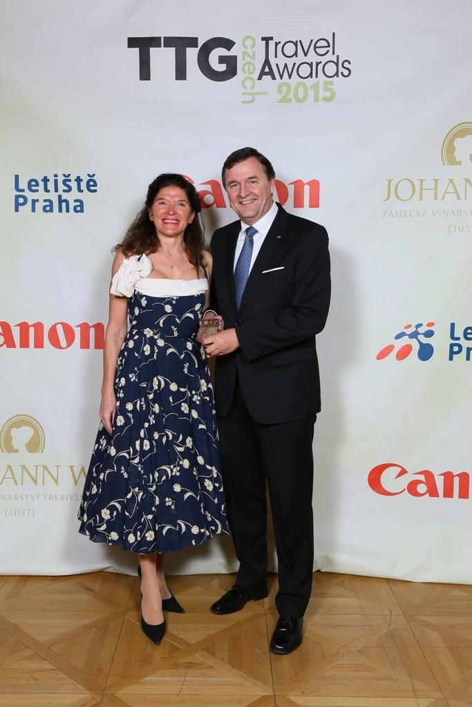 Amara Zemplinerová, TTG Czech, Michael Specking, Hilton Prague