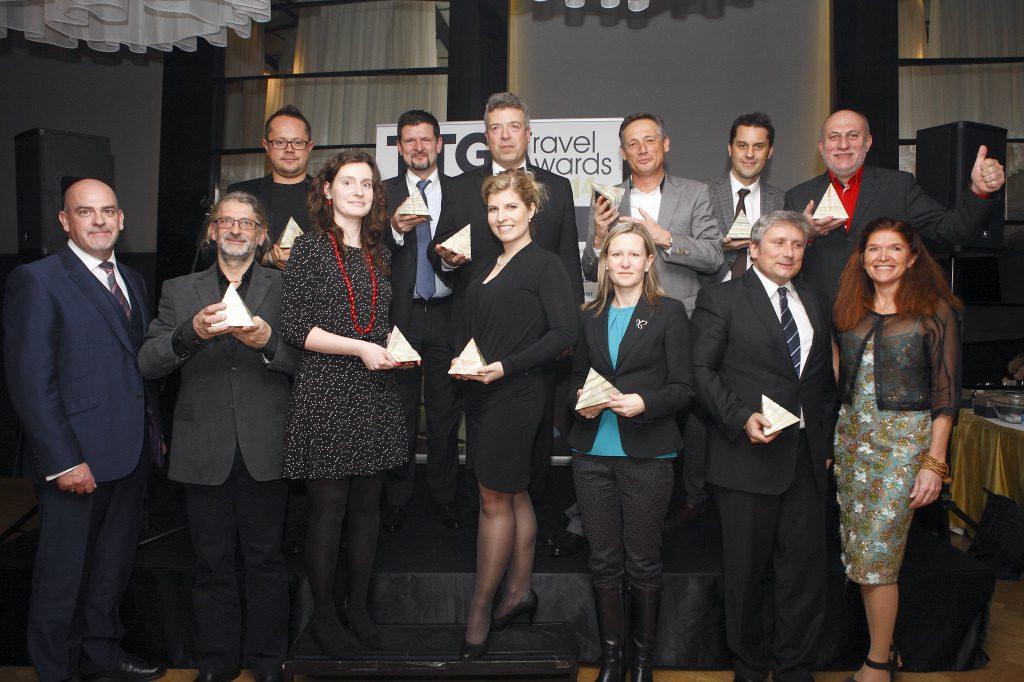 Výherci TTG Travel Awardss 2014 Foto: LudLuděk Neužil