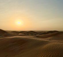 Poslední večer v Ras Al Khaimah – pouštní zážitek