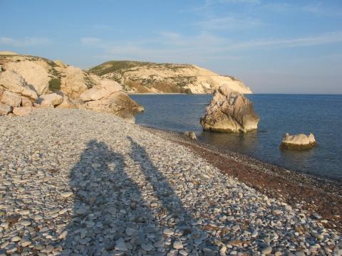 Kypr, Afroditina pláž Foto: Lucie Poštolková