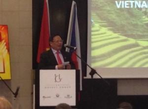 Předseda Vietnamské státní agentury pro cestovní ruch VNAT pan Nguyen Van Tuan, Foto: Amara Zemplinerová