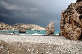 Pláž Petra tou Romiou, Foto: Iva Bártová