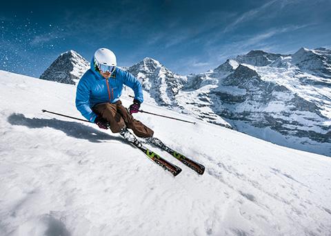 Lyžařský ráj Jungfrau