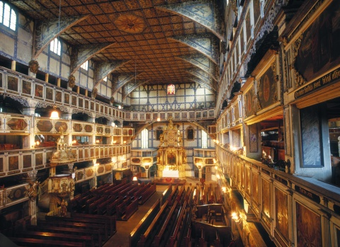Kostel v Jaworze Foto: Archiv Polské turistické organizace