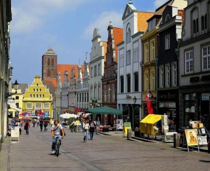 Krämerstraße, Foto: Hansestadt Wismar