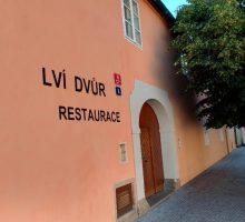 Restaurace Lví dvůr je opět otevřena