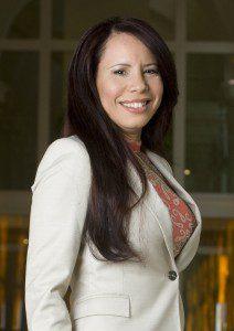 Ředitelka úřadu Leila Boasier Budecker
