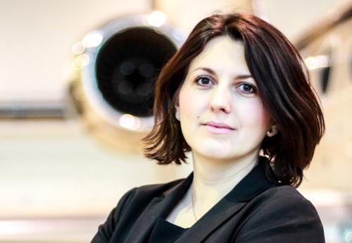 Lenka Náhlovská nová vedoucí oddělení prodeje letů společnosti ABS Jets