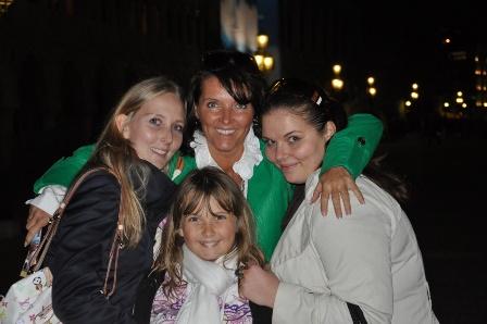 Lenka Viková s dcerami, Foto: Archiv Lenky Vikové