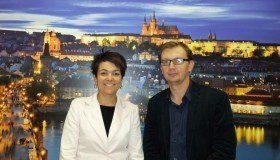 Lenka Žlebková a Aleš Hozdecký Foto: PCB