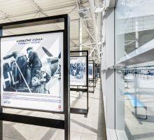 Na Letišti Václava Havla Praha byla pro veřejnost otevřena nová výstava k75. výročí příletu československých letců RAF