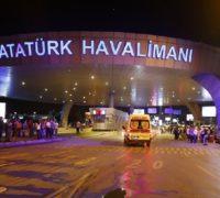 Letiště v Istanbulu po teroristickém útoku. Zdroj: sputnik