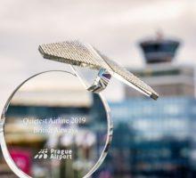 Letecká společnost British Airways je Nejtišším dopravcem na pražském letišti