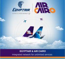 Společnosti Egyptair a Air Cairo podepsaly dohodu o partnerství