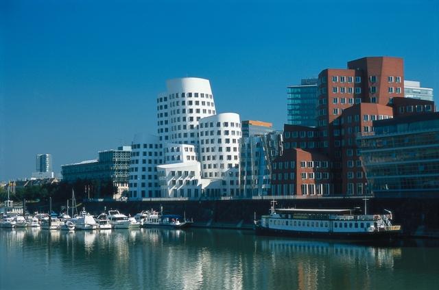 Moderní čtvrť Medienhafen, Foto: Rainer Kiedrowski