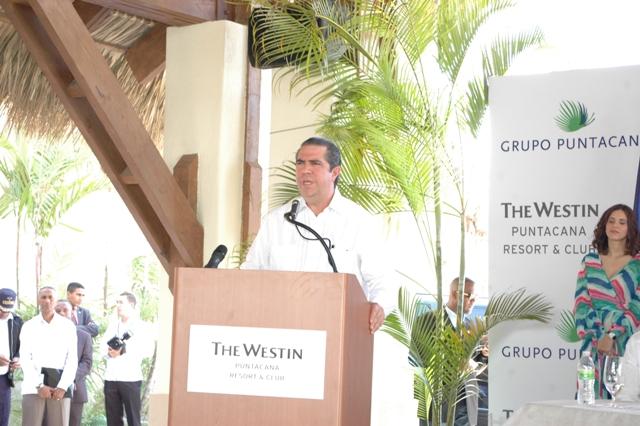 Ministr cestovního ruchu Dominikánské republiky Francisco Javier García, Foto: Národní turistický úřad Dominikánské republiky