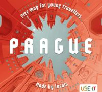 Obálka nového vydání USE-IT mapy Prahy