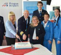 Aerolinka KLM společně sLetištěm Praha připravila překvapení pro cestující na lince Praha-Amsterdam