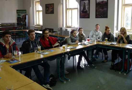 Neveklovská obchodní akademie hostila studenty zRakouska a Portugalska