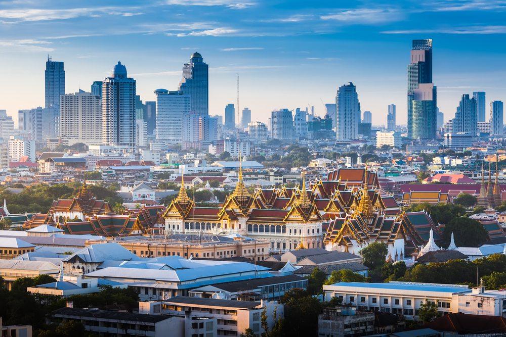 Thajská metropole Bangkok.