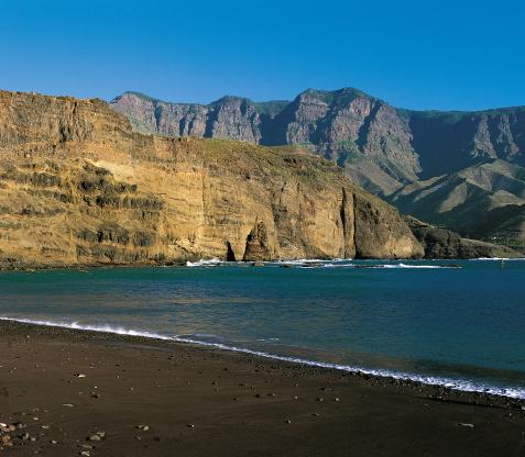Playa de Agaete Foto: www.grancanaria.com