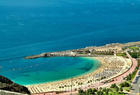 Playa de Amadores Foto: www.grancanaria.com