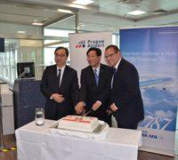 Korean Air slaví 15. výročí linky z Prahy do Soulu