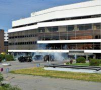 Rozsáhlé protiteroristické cvičení prověřilo bezpečnostKongresového centra Praha