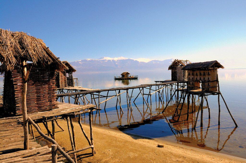 Jezero Prespa Zdroj: Makedonia Timeless
