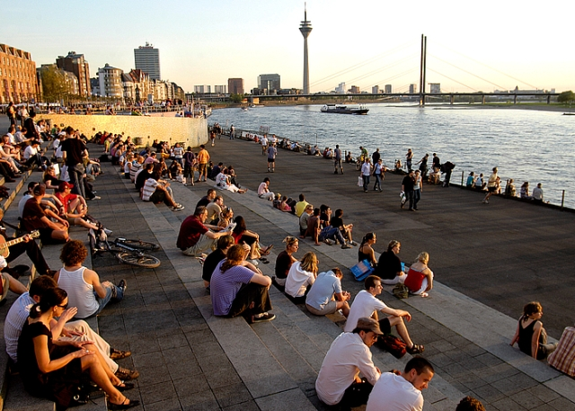 Promenada, Foto: Düsseldorf Marketing & Tourismus