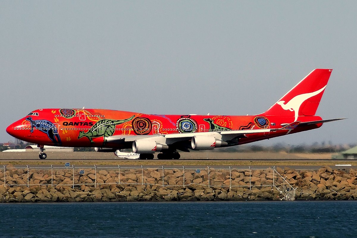 Qantas Boeing 747-400ER Zdroj: Wikipedia.org/YSSYguy