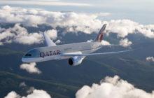 Qatar Airways budou od zimního letového řádu létat z Prahy do Dauhá nově s Boeingem 787 Dreamliner