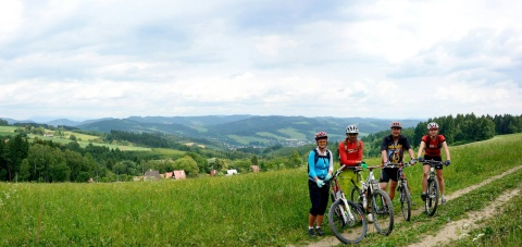 Hostýnské vrchy - ráj bikerů Foto: Archiv Východní Moravy