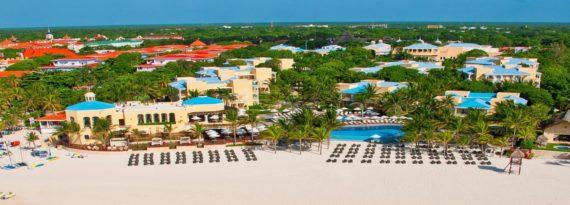 Hotel Royal Hideaway Playacar Resort, nyní součást řetězce Barceló. Zdroj: archiv Barceló