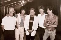 Rolling Stones, Praha Strahov, 1995, Foto: Jiří Jírů