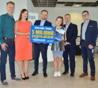Ryanair slaví 5 milionů přepravených cestujících v Praze