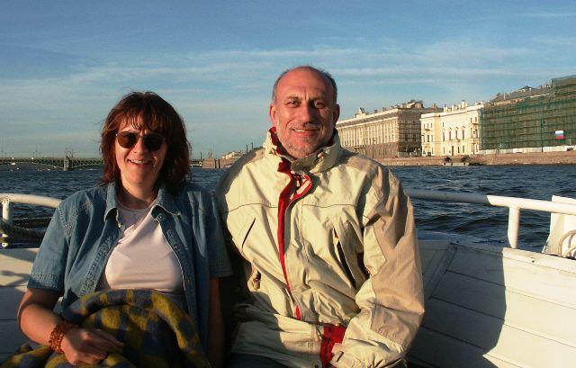 S manželkou, Foto: archiv Petra Krče