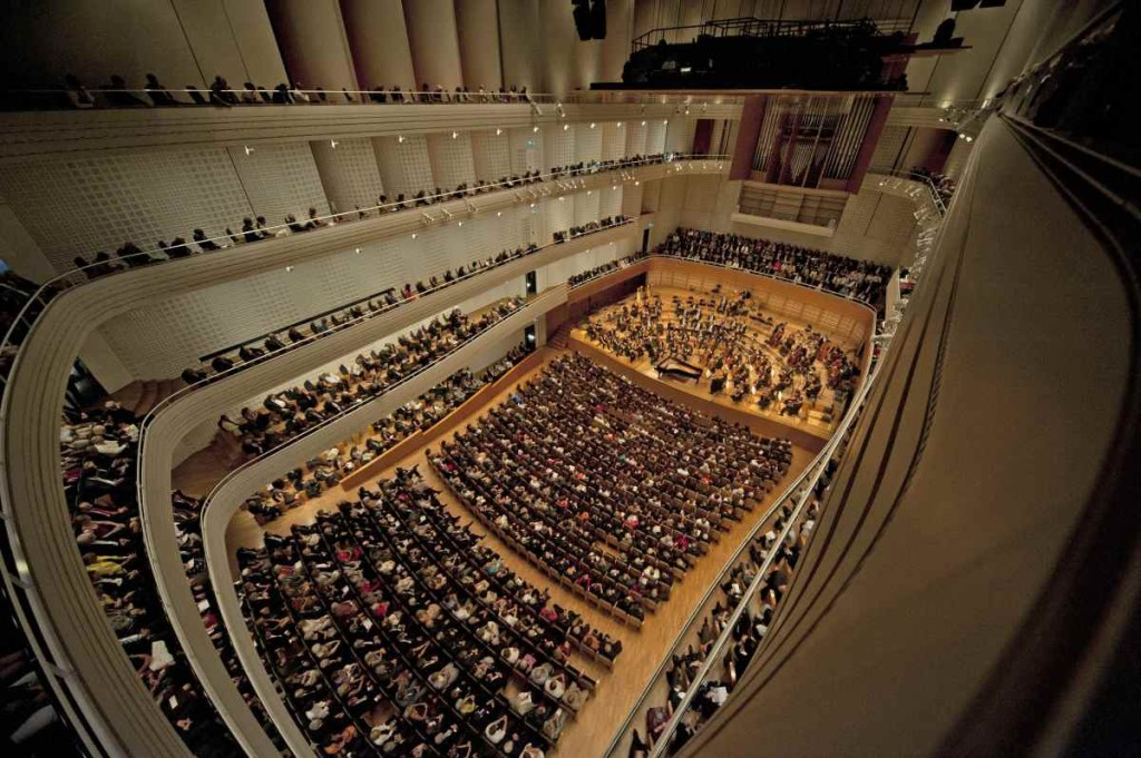 concert hall in the KKL Luzern with phenomenal acoustics