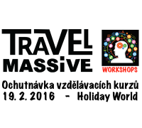 Vzdělávací kurzy Travel Massive se představí na Holiday World 2016