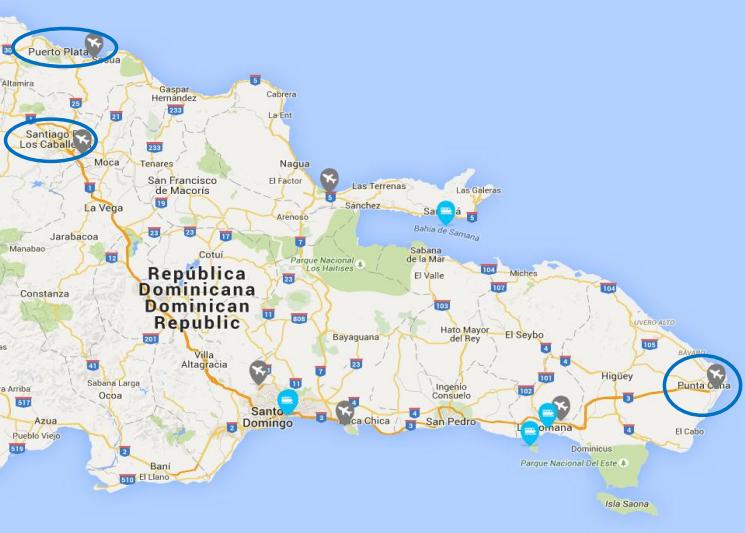 Zdroj: Národní turistický úřad Dominikánské republiky