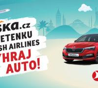 Podzimní cestování sLetuškou se vyplatí. Za letenku můžete dostat nové auto!
