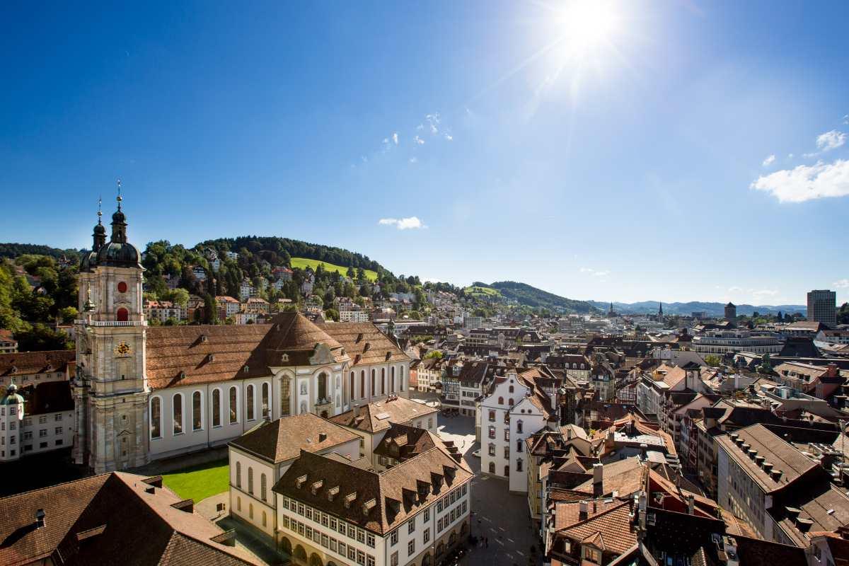 St.Gallen-Bodensee Tourismus:Auf Tour in der UNESCO-Weltkulturerbestadt