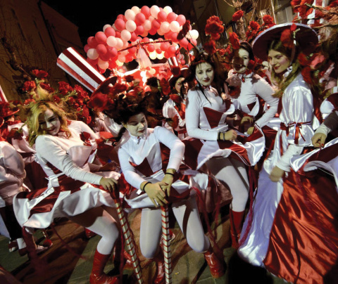 Karneval Sturmica Foto: www.macedonia-timeless.com