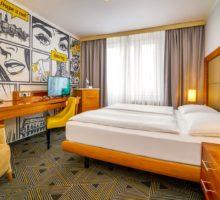Hotel Uno Prague prošel vletošním roce rekonstrukcí a následným rebrandingem